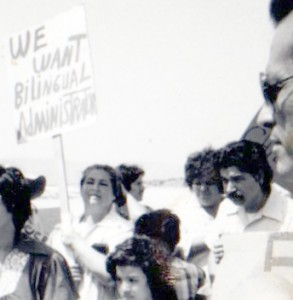 1979 Rally for Bilingual Education.