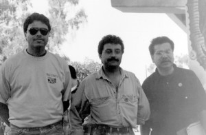 1992 Chicano Park Day in Preparation for the Marcha of 500 Years of Raza Resistance.