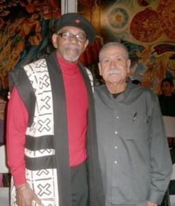 Neto and Chairman Omali.