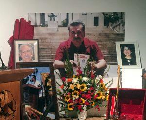 Honoring the memory of compañeros Ernesto Bustillos, Marco Anguiano, and compañera Patricia Marín