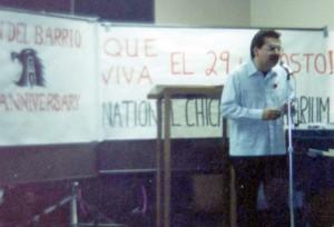 1991 Unión del Barrio 10th Anniversary.